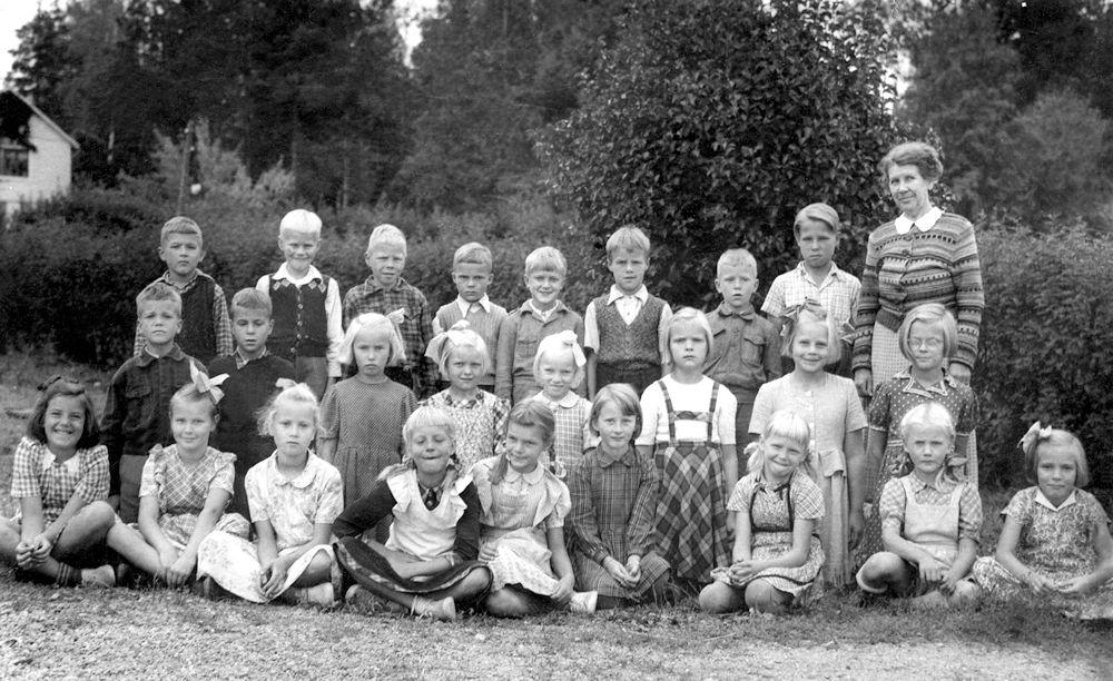 Harjulan koulun 3 B lk 1950
