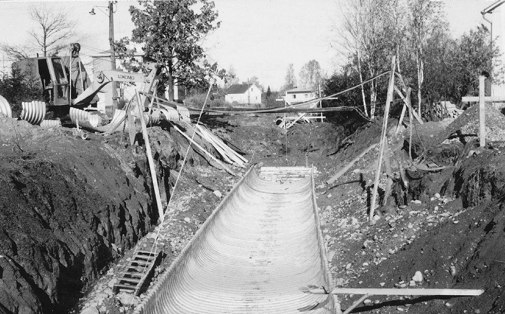 Loutinojan tunneli Mannilantien alitse