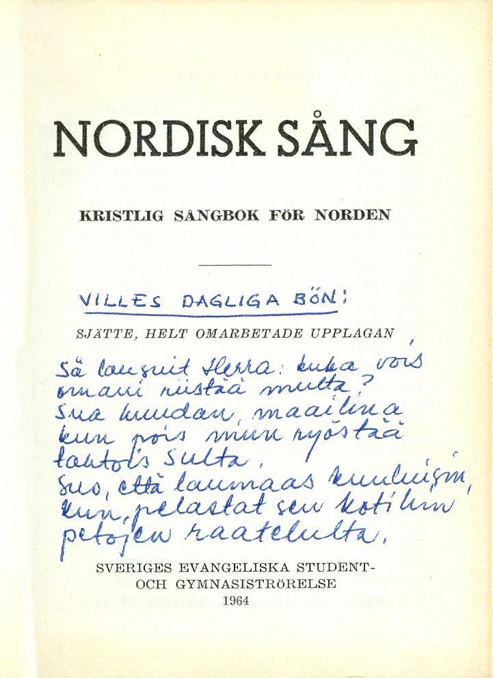 nordisk sång