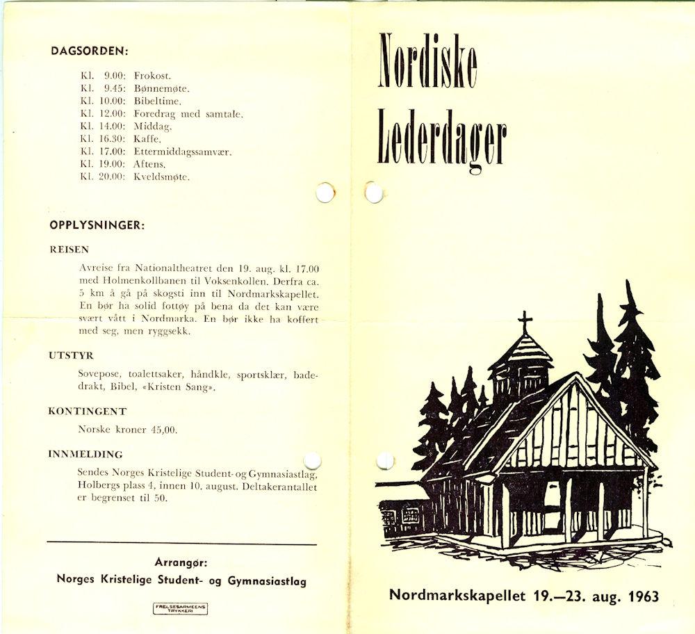 kapellet 1963